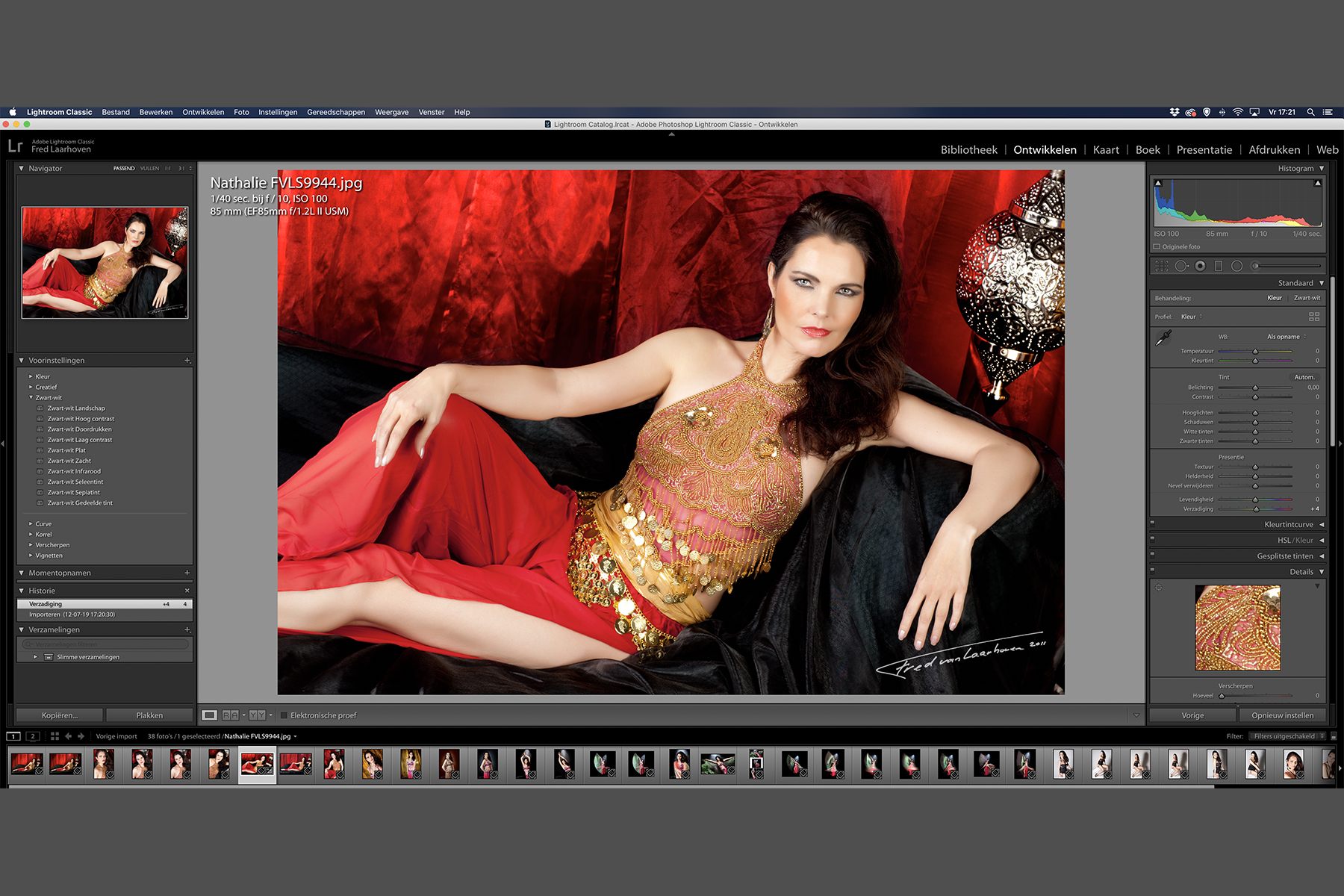 Cursus Adobe Lightroom beginners